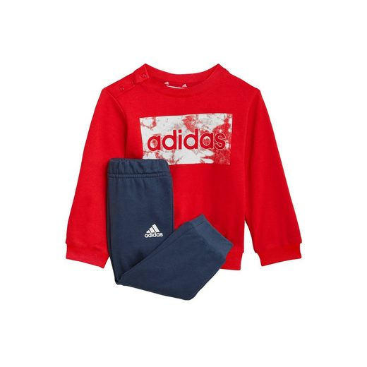 adidas Performance Trainingsanzug »ADIDAS ESSENTIALS SWEATSHIRT SET« (Set, 2-tlg)