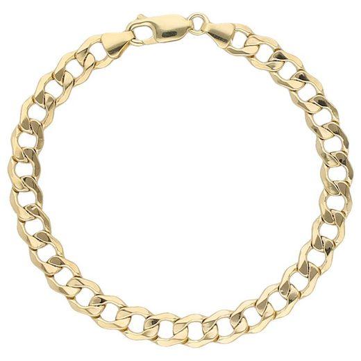 Luigi Merano Armband »Panzerarmband, Gold 333«