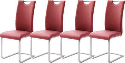 MCA furniture Freischwinger »Paulo« (Set, 4 Stück), Stuhl belastbar bis 120 kg