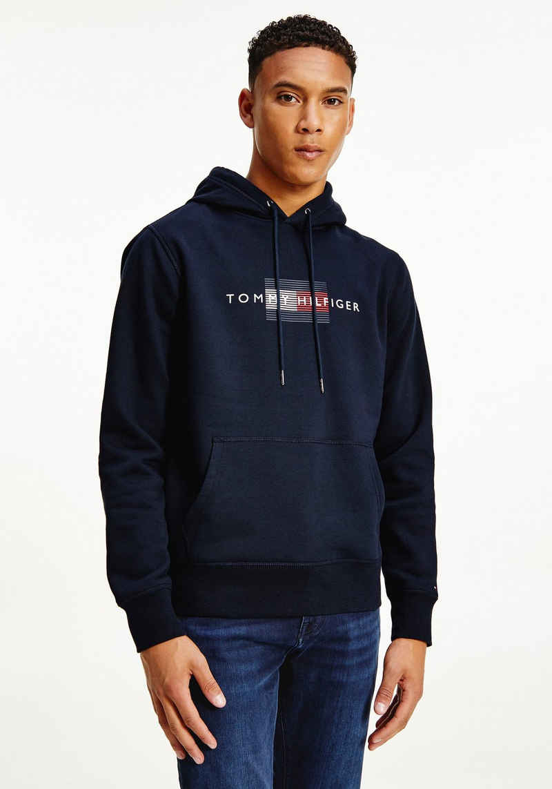 Tommy Hilfiger Kapuzensweatshirt »LINES HILFIGER HOODY«