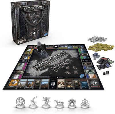 Hasbro Spiel, »Monopoly Game of Thrones«, mit Game of Thrones Soundtrack