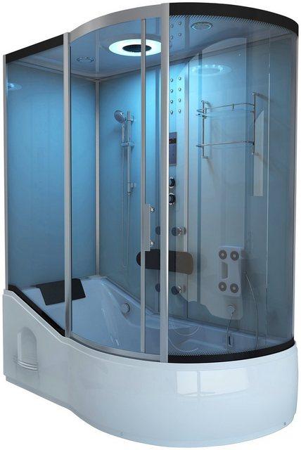 Duschen und Zubehör - HOME DELUXE Komplettdusche »ALL IN 2 in 1«, BxT 170x90 cm, Sicherheitsglas, 1 tlg., Wanne und Dusche  - Onlineshop OTTO