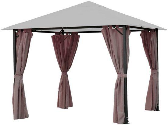 QUICK STAR Seitenteile für Pavillon »Nizza«, für 300x300 cm, 4 Stk.
