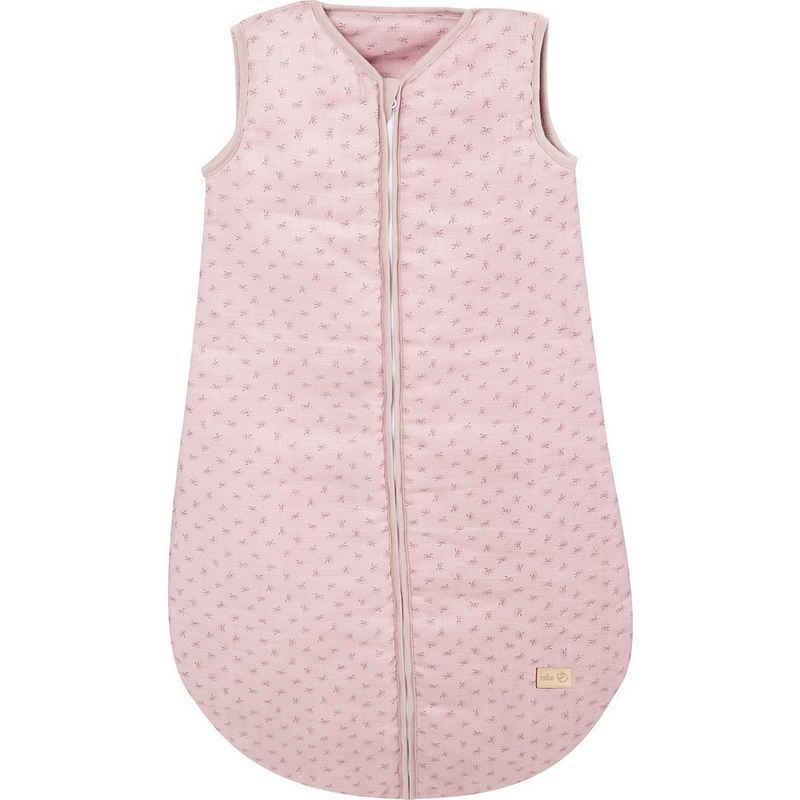 """roba® Babyschlafsack »Schlafsack """"Lil Planet"""", 100% Baumwolle, rosa, 90«"""