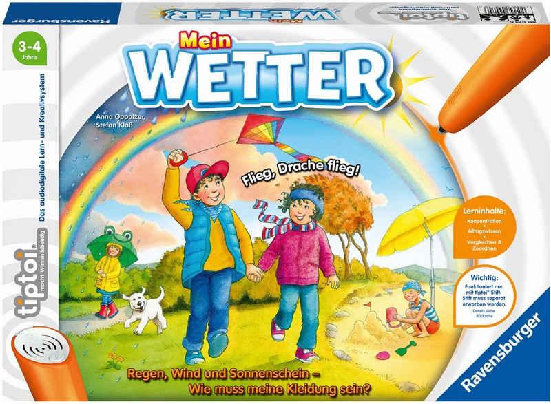 Ravensburger Spiel, »tiptoi® Mein Wetter«, FSC® - schützt Wald - weltweit; Made in Europe
