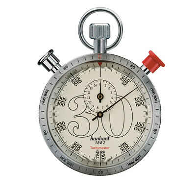hanhart Stoppuhr »Stoppuhr CLASSICTIMER Tachymaster 30«, Messbereich: Km/h zu Meter