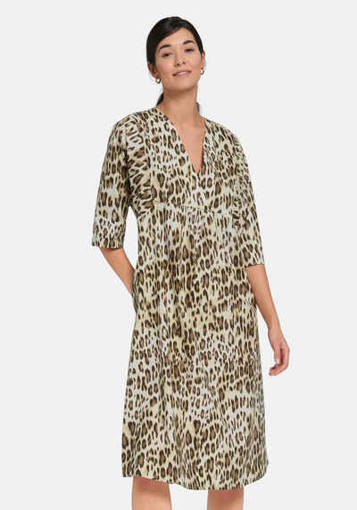Margittes Blusenkleid »mit Leo-Muster«