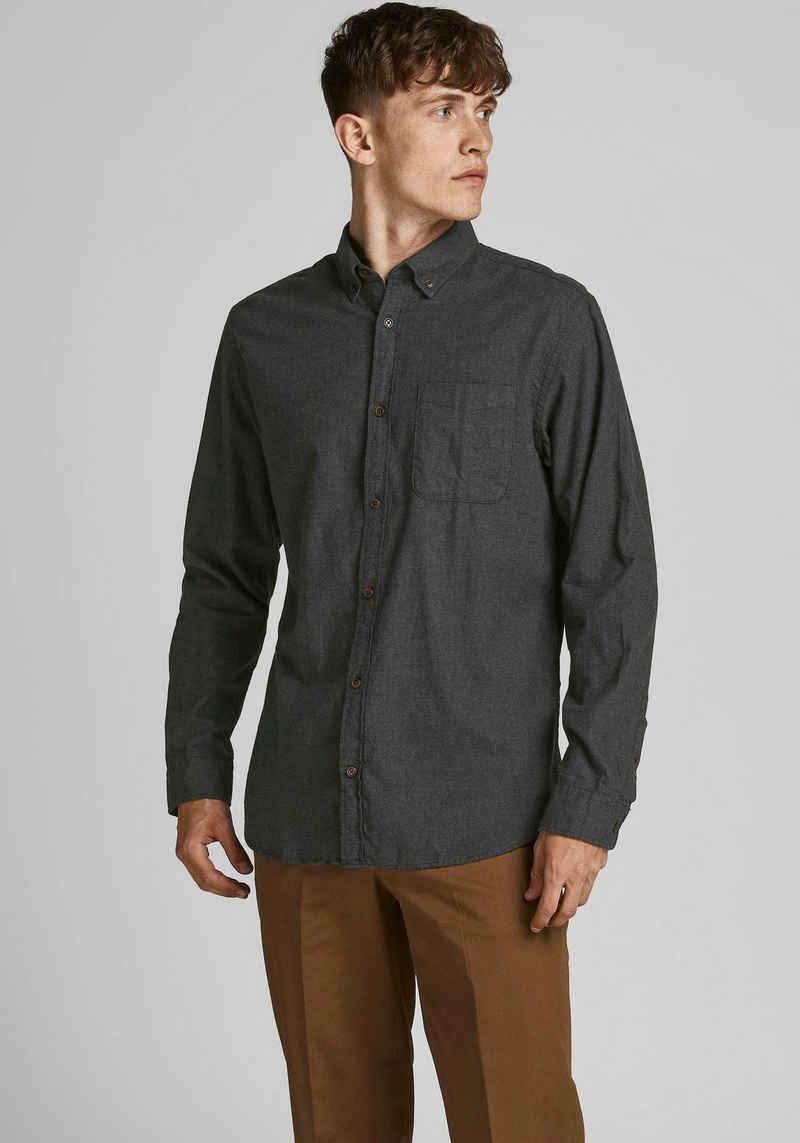 Jack & Jones Langarmhemd »CLASSIC HEATHER SHIRT«
