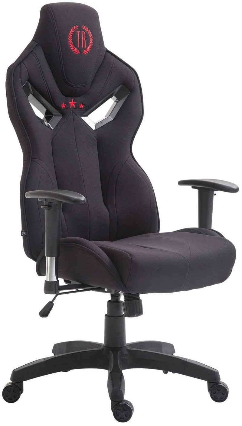 CLP Gaming Chair »Fangio Stoff«, mit Laufrollen