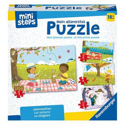 Ravensburger Steckpuzzle »Mein allererstes Puzzle: Jahreszeiten«, Puzzleteile
