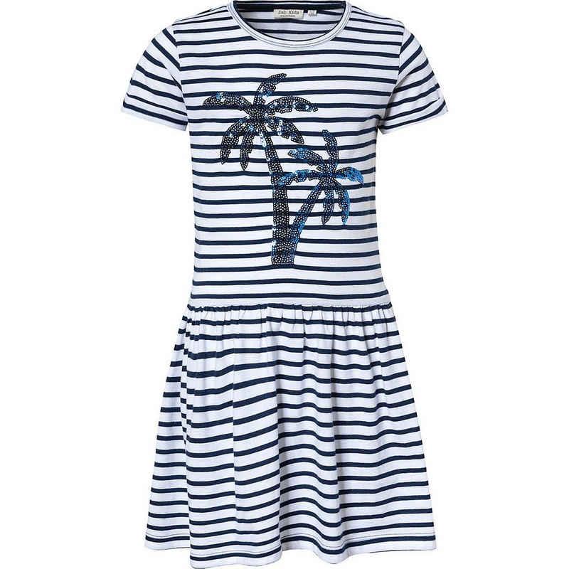 MyToys-COLLECTION Jerseykleid »Kinder Jerseykleid mit Pailletten von ZAB kids«