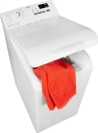AEG Waschmaschine Toplader 6000 L6TB40260, 6 kg, 1200 U/min, Nachlegefunktion
