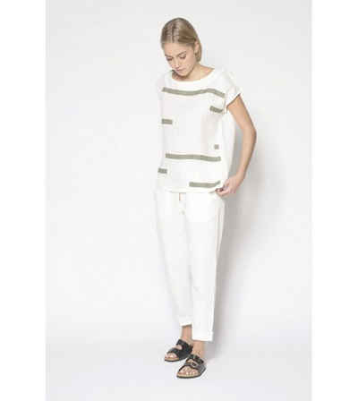 PAN Shirtbluse »PAN Damen Bluse aus reinem Leinen«