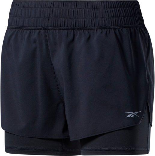 Reebok 2-in-1-Shorts »WOR Run 2 in 1 Short«
