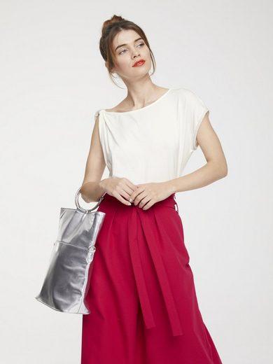 heine STYLE Shirttop mit Knotendetail