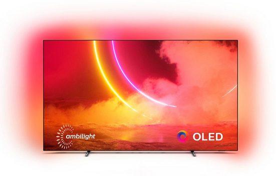 Philips 55OLED805/12 OLED-Fernseher (139 cm/55 Zoll, 4K Ultra HD, Smart-TV)