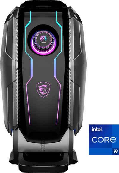 MSI MEG Aegis Ti5 11TE-212DE Gaming-PC (Intel® Core i9 11900K, GeForce RTX 3080, 64 GB RAM, 3000 GB HDD, 2000 GB SSD, Wasserkühlung)