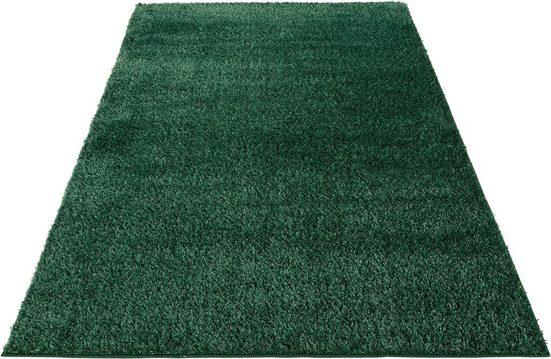 Hochflor-Teppich »Auslegungssache«, COUCH♥, rechteckig, Höhe 30 mm, besonders weich durch Microfaser, COUCH Lieblingsstücke