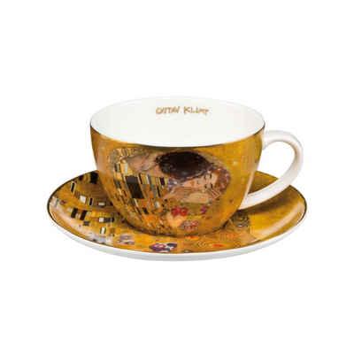 Goebel Tasse »Der Kuss Artis Orbis Gustav Klimt«, Fine China-Porzellan