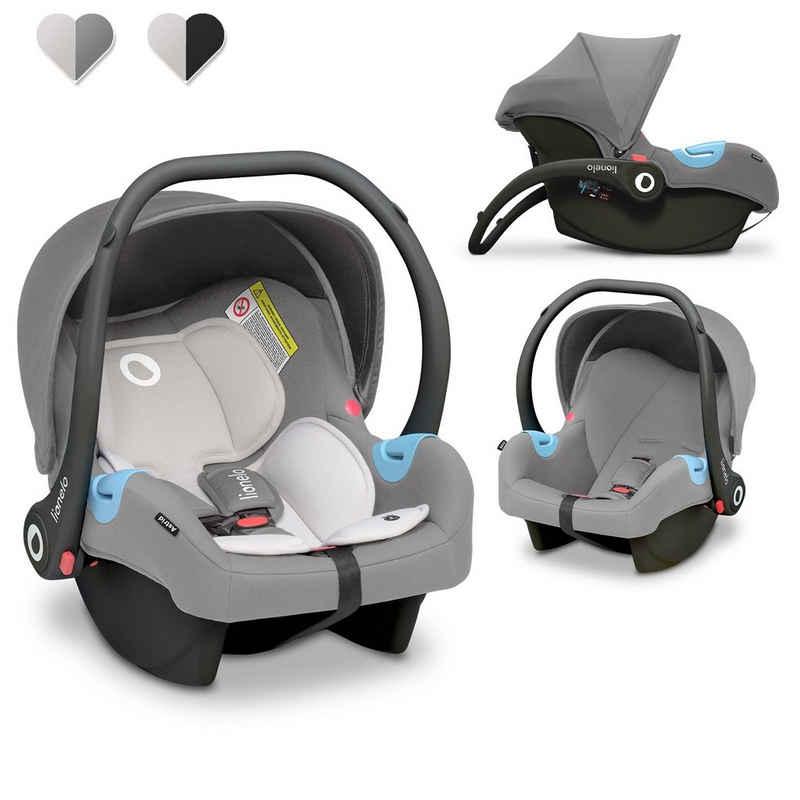 lionelo Babyschale »Astrid«, 3,40 kg, (Auto-Kindersitze), TÜV ECE R 44/04 Dri-seat Sonnendach Waschbar 0-13kg