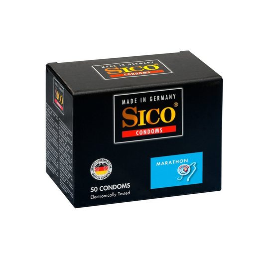 SICO Kondome »Marathon, 50er Box«, 1 St.