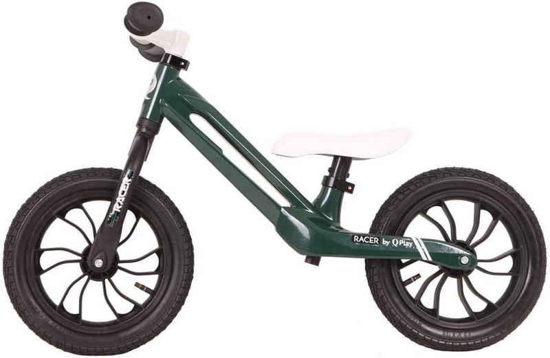 LeNoSa Laufrad »QPlay • Balance Bike • Magnesium Laufrad für Kinder • schwarz/grün«, Alter 2-4 Jahre