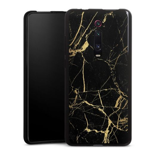 DeinDesign Handyhülle »BlackGoldMarble Look« Xiaomi Mi 9T Pro, Hülle Marmor schwarz Muster
