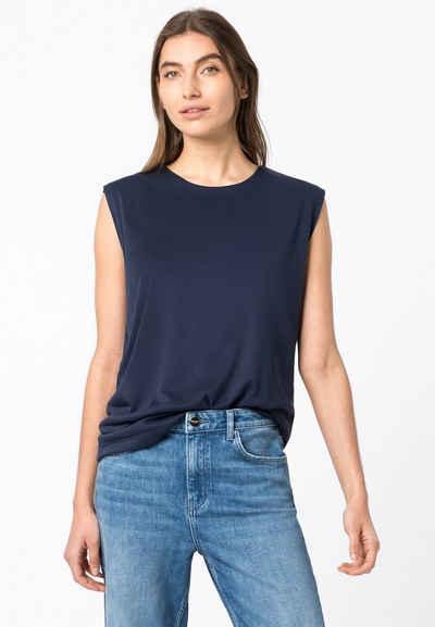 HALLHUBER Shirttop »Top mit Schulterpolstern«