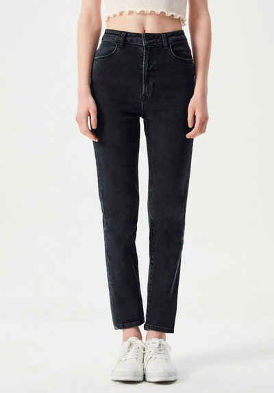 LTB Mom-Jeans »DORES C« mit schmal zulaufendem Bein, hoher Leibhöhe und Stretch-Anteil