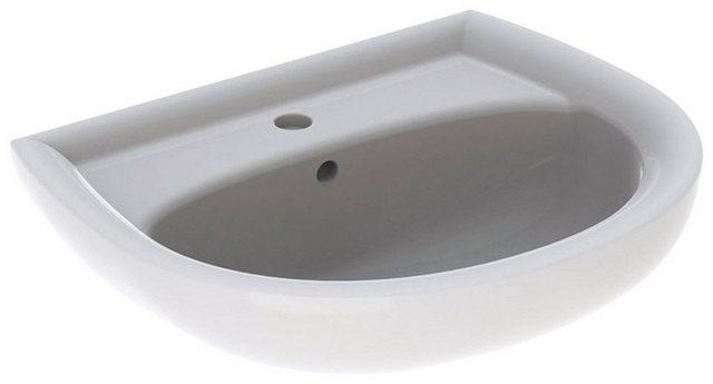 Waschtische - GEBERIT Waschbecken »Renova Nr. 1«, mit Hahnloch, mit Überlauf, weiß, KeraTect  - Onlineshop OTTO