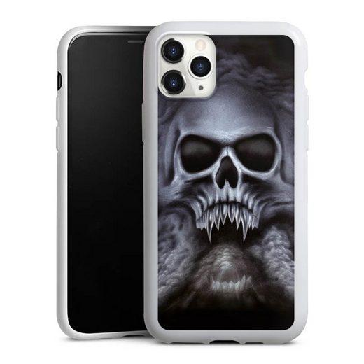 DeinDesign Handyhülle »Trinity« Apple iPhone 11 Pro, Hülle Totenkopf Schädel Halloween