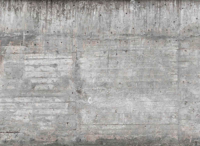 living walls Fototapete »Designwalls Concrete Wall«, glatt, (5 St)