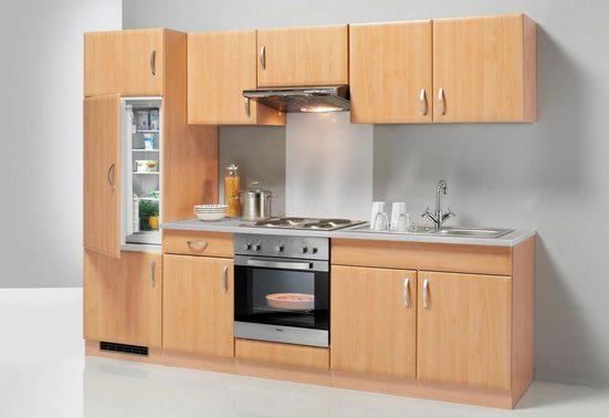 wiho Küchen Küchenzeile »Prag«, mit E-Geräten, Breite 270 cm - Set 1
