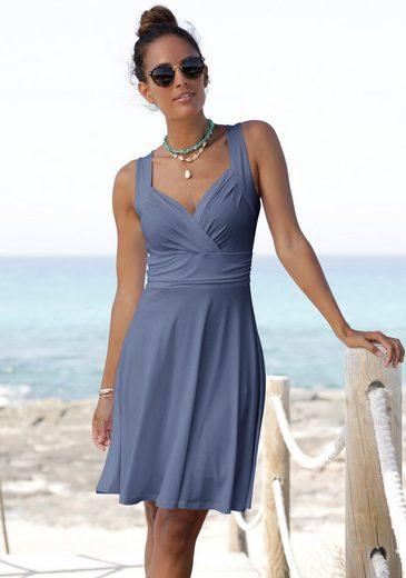 Vivance Jerseykleid mit tollem Ausschnitt