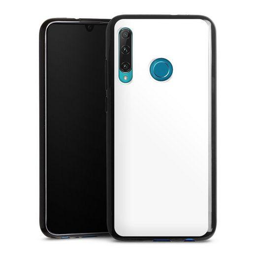 DeinDesign Handyhülle »Brillantweiß« OnePlus 8, Hülle einfarbig weiß Thermomixmotive