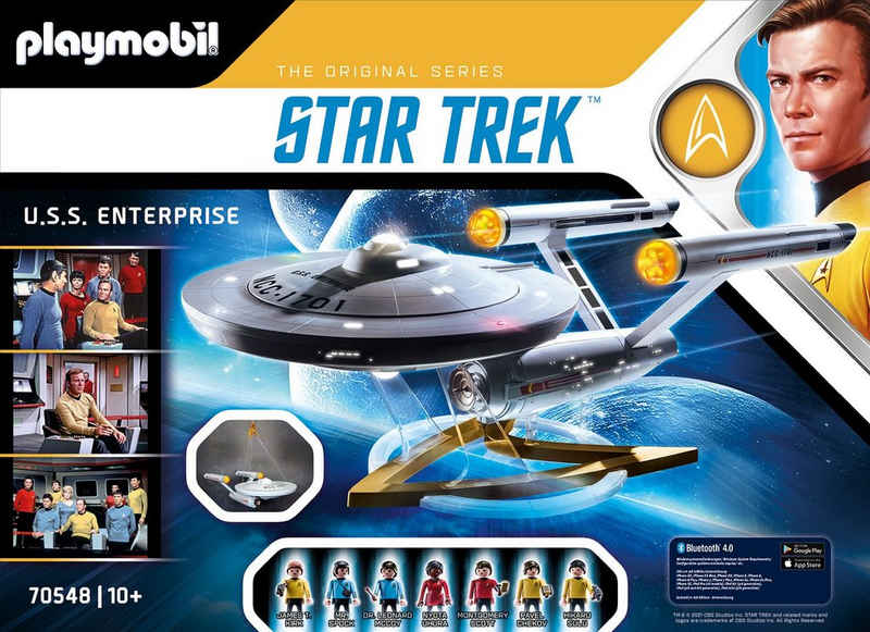 Playmobil® Konstruktions-Spielset »Star Trek - U.S.S. Enterprise NCC-1701 (70548)«, (150 St), Made in Europe