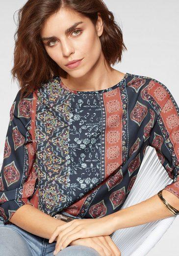 Tamaris Shirtbluse mit ausdrucksstarkem Print