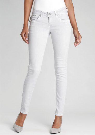 GANG Skinny-fit-Jeans »NIKITA« Coin-Pocket mit Reißverschluss