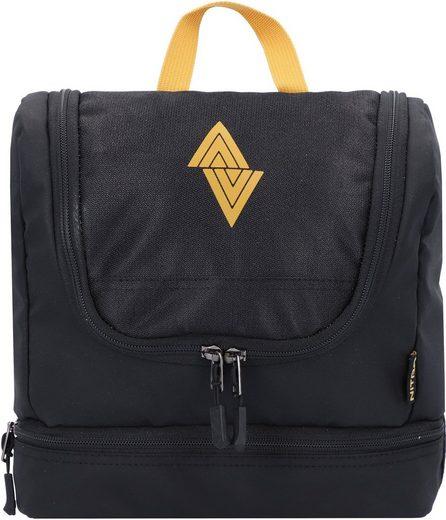 NITRO Kulturbeutel »Travel Kit, Golden Black«, zum Aufhängen