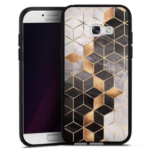 DeinDesign Handyhülle »Smoky Cubes« Samsung Galaxy A5 (2017), Hülle Elisabeth Fredriksson Würfel Muster