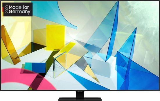 Samsung GQ85Q80T QLED-Fernseher (214 cm/85 Zoll, 4K Ultra HD, Smart-TV)