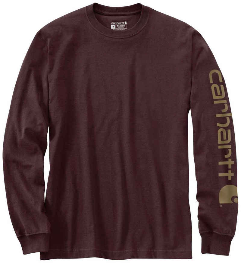 Carhartt Langarmshirt »SLEEVE LOGO T-SHIRT L/S«
