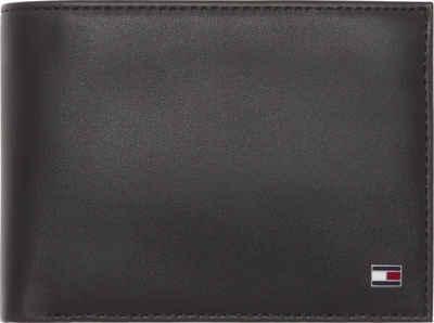Tommy Hilfiger Geldbörse »ETON CC FLAP AND COIN POCKET«, aus weichem Leder