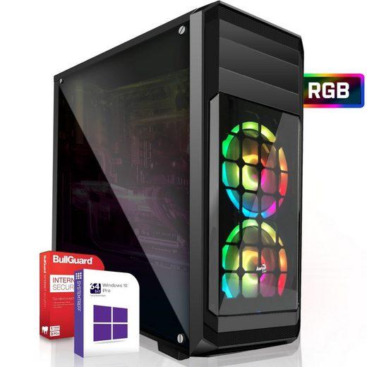 SYSTEMTREFF Basic Edition 92511 Gaming-PC (AMD AMD Ryzen 3 PRO 4350G Ryzen 3 PRO 4350G, 8 GB RAM, 1000 GB HDD, 120 GB SSD)