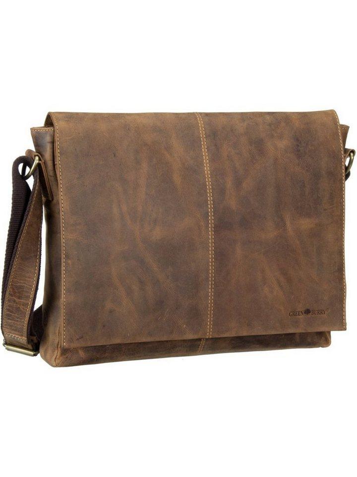 greenburry -  Laptoptasche »Vintage 1632 Kuriertasche«, Messenger Bag