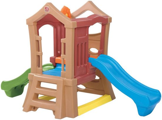 STEP2 Spielturm »Double Slide«, BxTxH: 130x249x152 cm