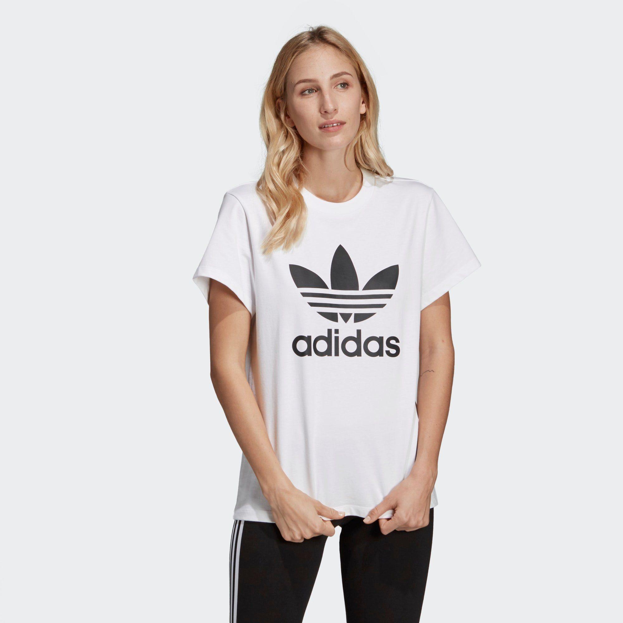 adidas Originals T Shirt »Boyfriend Trefoil T Shirt« online kaufen | OTTO
