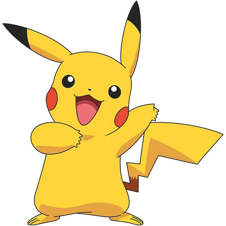 RoomMates Wandsticker »Wandsticker Pokemon Pikachu Giant, 8 tlg.« online  kaufen   OTTO