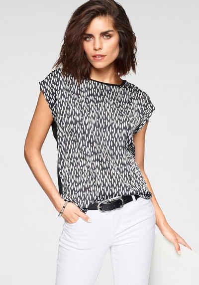Tamaris Shirtbluse mit trendigem Print