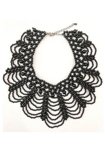 J.Jayz Collier »detailliertes Design, elegant und glamourös«, mit Acrylperlen